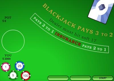 Ace Blackjack Game