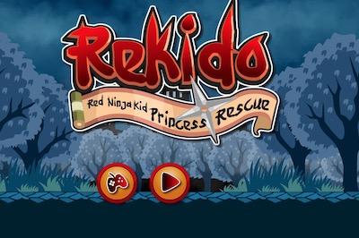 Rekido Red Ninja Kid Princess Rescue
