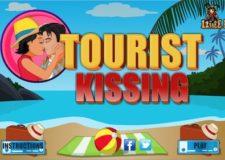 tourist-kiss