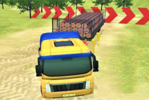 Drive Offroad Truck on Hill
