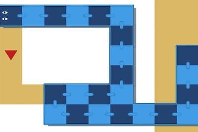 snake swipe puzzle'